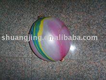 punch rainbow balloon