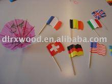 flag toothpicks