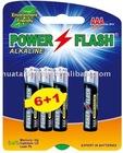 LR03 AM-4 AAA Alkaline Batteries
