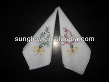fashion EMB handkerchief
