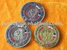 War world hard enamel coin