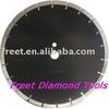 laser welded diamond saw blades for cutting concrete asphalt road