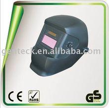 solar auto-darkening welding helmet