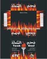 Silver hookah charcoal-Torch coal