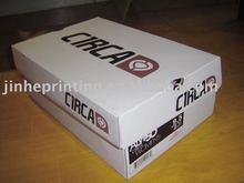 custom corrugated paper shoe box packaging