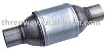High flow catalytic converter