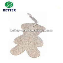 pear design clean loofah sponge