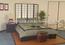 King/Queen Size Tatami Wooden Zen Platform Bed