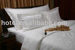 Nantong 5 star hotel bed linen manufacture, 300TC luxury bedding set supplier