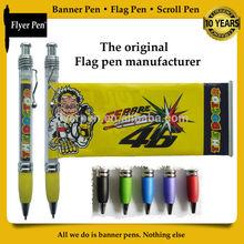 Advertising promotional Flag pen