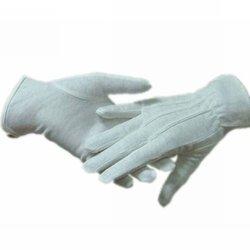 White uniform parade china manufacturer work cotton glove