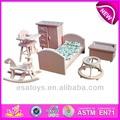 2014 nuevo y popular de dormitorio de madera de juguete, venta caliente juguete del dormitorio, la decoración de miniaturas- muebles de dormitorio de madera de juguete( wj278063)