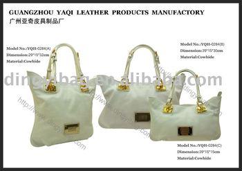 Extra Big Shopping and Travel Leather Bags, Women's handbag (bag)