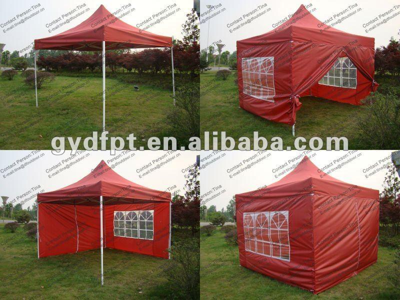 tente pliable ext rieure de jardin de 3x3m garage toit et. Black Bedroom Furniture Sets. Home Design Ideas