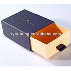 2013 newly cardboard sliding gift box
