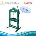 Jl-20s 20 toneladas manual de la prensa hidráulica