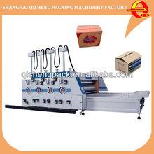 Semi atuo corrugated carton box printer and slotter