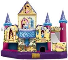 Hotsale princess inflatable castle for sale