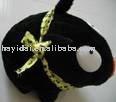 plush black pig on sales at USD1.03/pcs