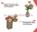 de papel decoratve jarrón de flores