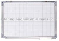 2014BW-V1 dry wipe whiteboard with grey line