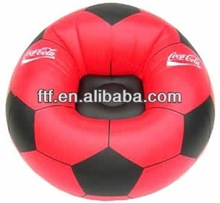 The most popular new furniture PVC inflatable football chair