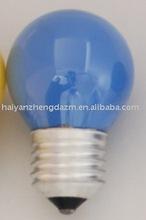 25w 220v G45/G40 incandescent bulb inner colour /lamp/incandescent bulb/lighting E27/B22 1000H/CE CERTIFICATION