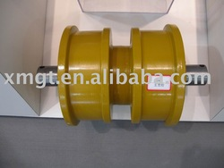 Sell Excavator parts for Cat Track roller ;double flange bottom roller ;lower roller