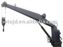 Marine electric hydraulic crane