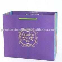 Fancy Branding Kraft Paper Bag