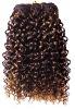 African hair weft for black women,20%human hair+80% synthetic hair