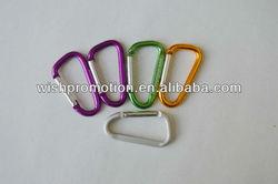 steel carabiner clip hook