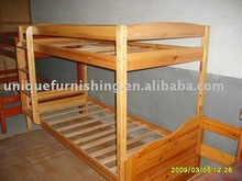 Wood Bedroom Furniture, Solid Wood Bunk Bed