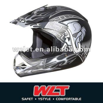 Motorcross helmet DOT approved atv helmet