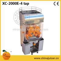 Orange suqeezer,automatic citrus juicer,XC-2000E-4TAP