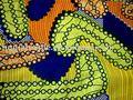 Réel coton ciré tissu