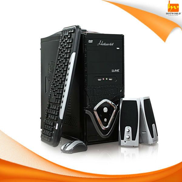 Desktop computer case with power supply KEYBOARD MOUSE SPEAKER