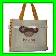 Foldable nonwoven promotional bags