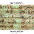 Rutschfeste Teppichbereichswolldecke, PVC druckte Vinylfußbodenmatte