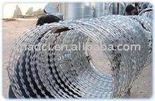 BTO22 spiral razor barbed wire