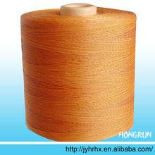 High tenacity dipped polyester thread