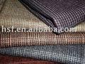 Lã verificado fantasia casacos tecido
