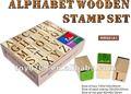 laser carimbo de borracha madeira alfabeto letras