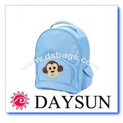 School bag with dog printing