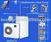 split type air to water three in one heat pump