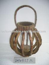 distressed glass moroccan lantern