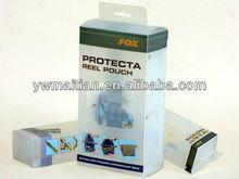 custom printed milky white PVC plastic box