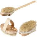 Professionnel noylon brosse de bain en bois, bath brosse de nettoyage, luffa bain brosse à long manche