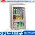 Mini showcase/pequeno refrigerador porta de vidro/bancada cooler