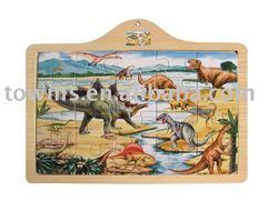 wooden jigsaw puzzle-dinosaurus
